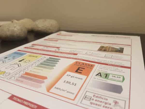 documenti vendita immobile ereditato prestazione energetica