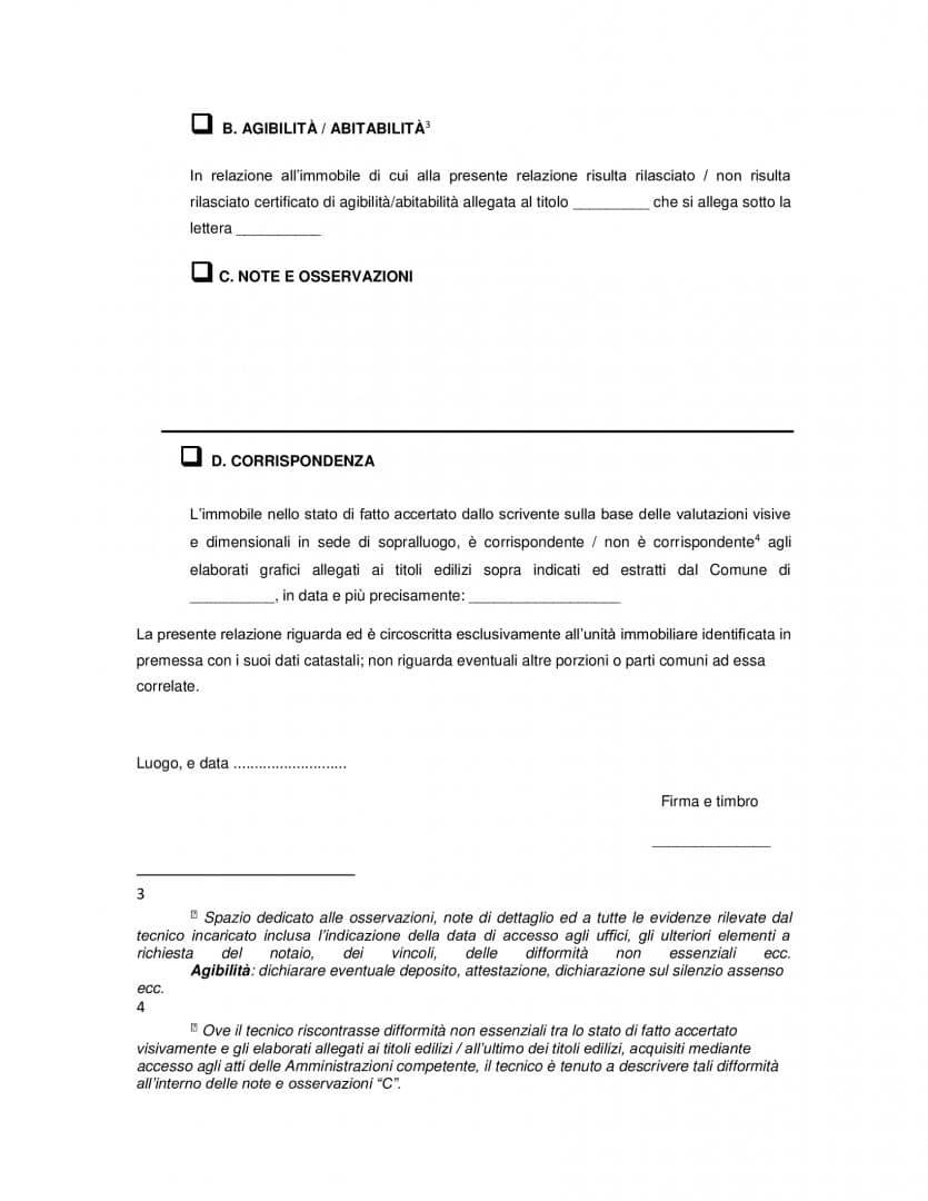 Dichiarazioni nella relazione tecnica integrata